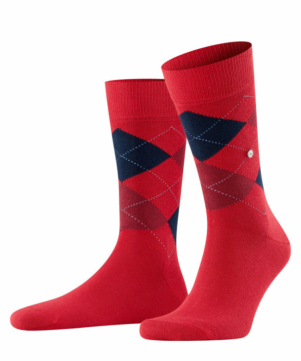 Burlington King Socks Red HemingCo