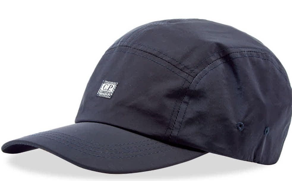 C.P Company 5 Panel Cap Navy HemingCo