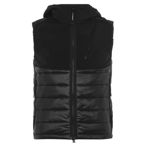 Load image into Gallery viewer, C.P Company Goggle Gilet Black HemingCo