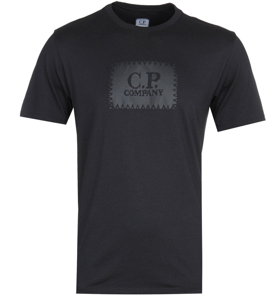C.P Company Label Logo Black HemingCo