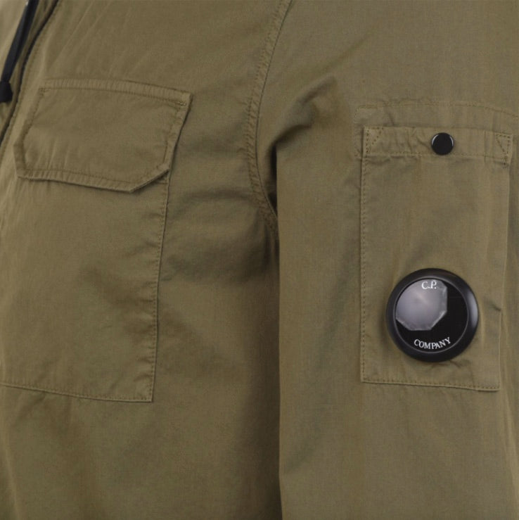 Load image into Gallery viewer, C.P Company Lens Overshirt Cornstalk HemingCo