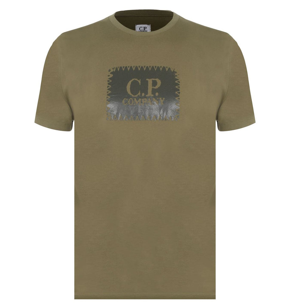 C.P Label Logo T-Shirt HemingCo