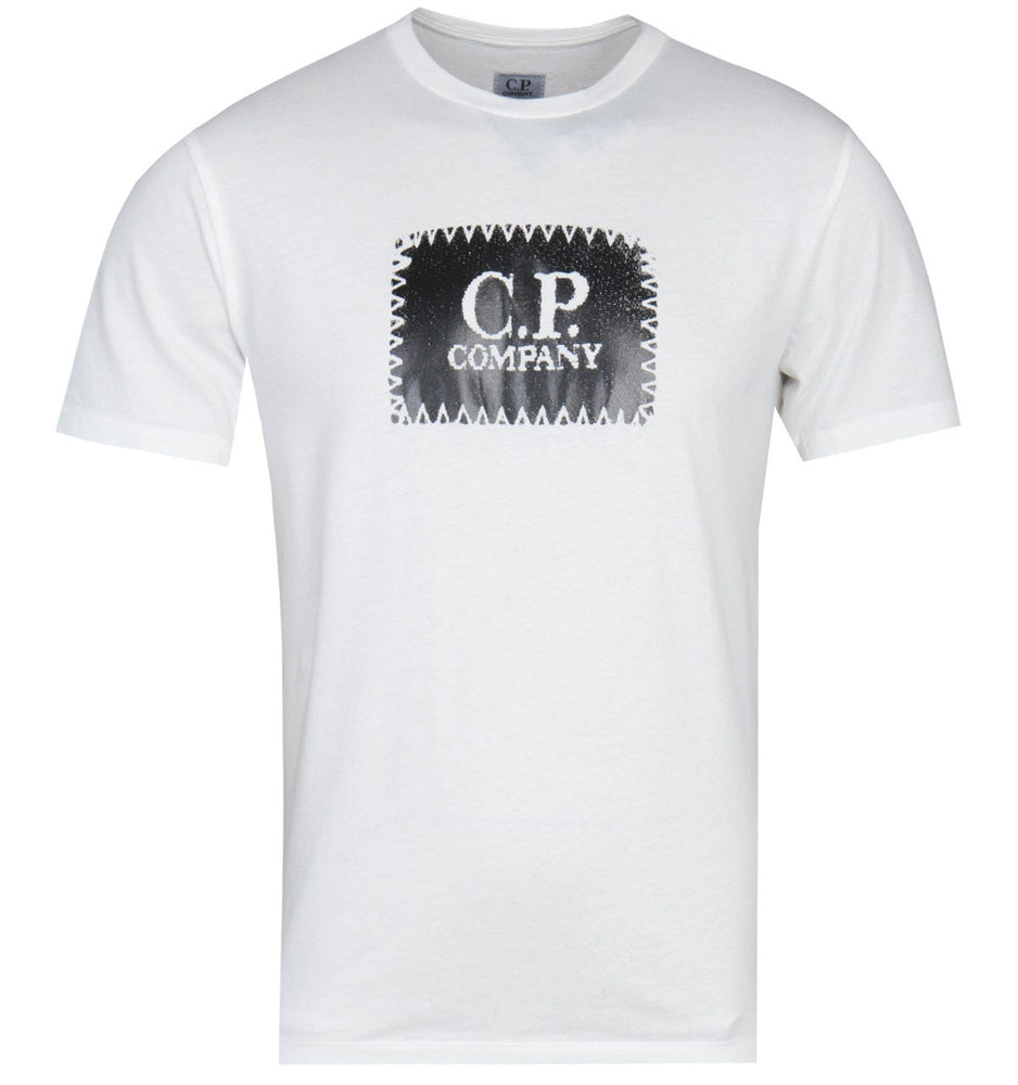 C.P Company Label Logo White HemingCo
