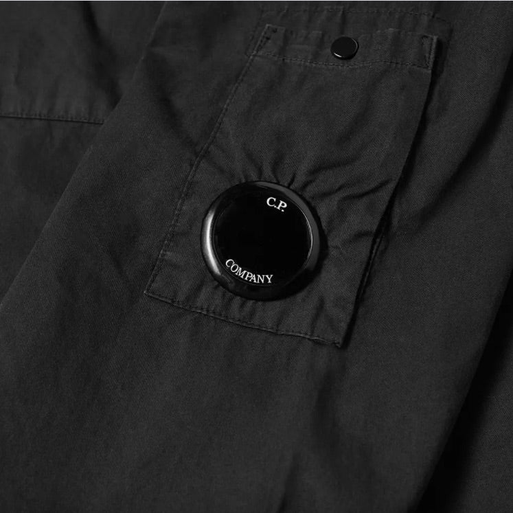 Load image into Gallery viewer, C.P Lens Overshirt Black HemingCo