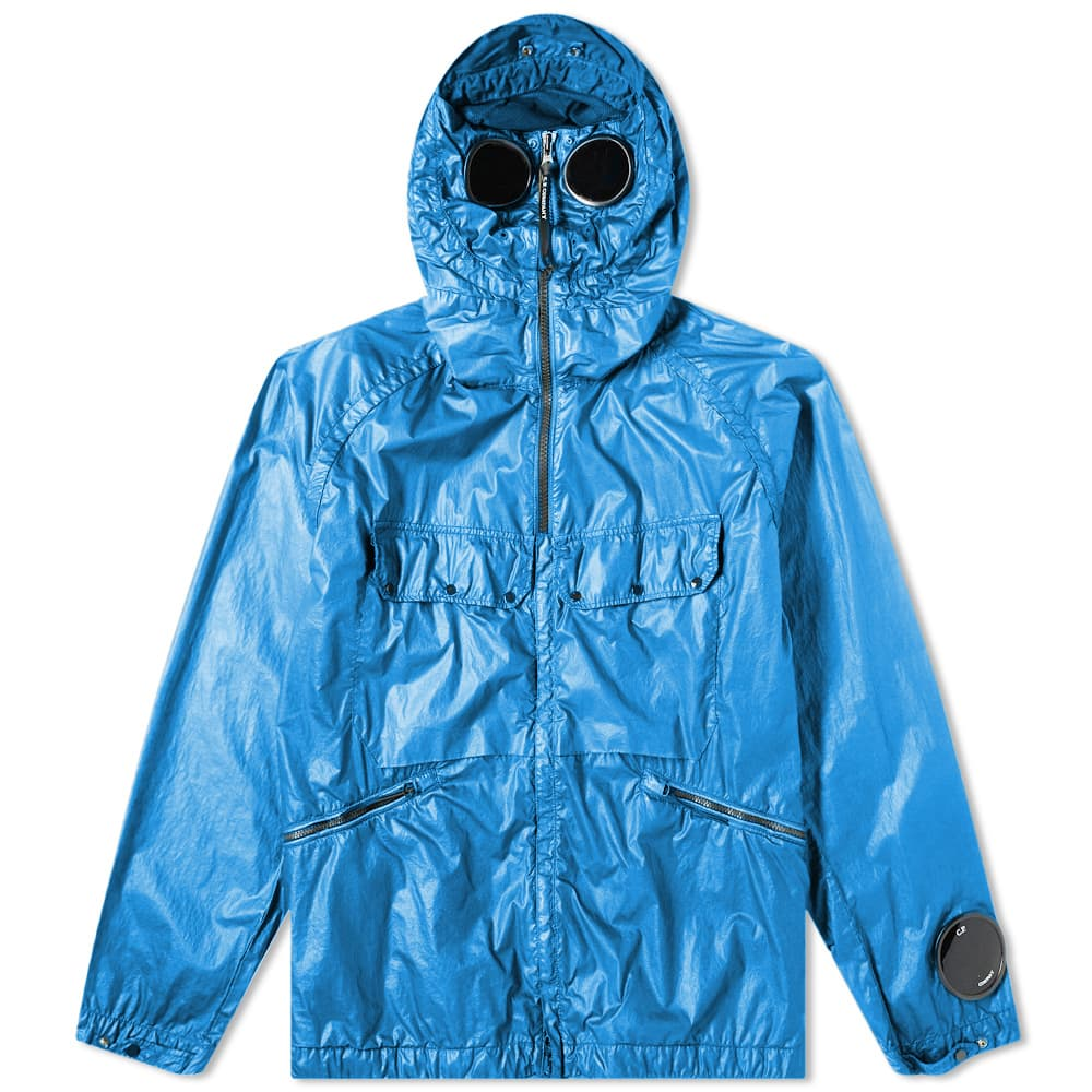 Load image into Gallery viewer, C.P Company Nyber Goggle Jacket Blue HemingCo