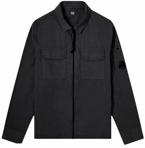 Load image into Gallery viewer, C.P Company Lens Overshirt: BLACK