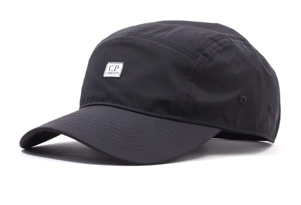 Load image into Gallery viewer, C.P Company 5 Panel Cap Black HemingCo