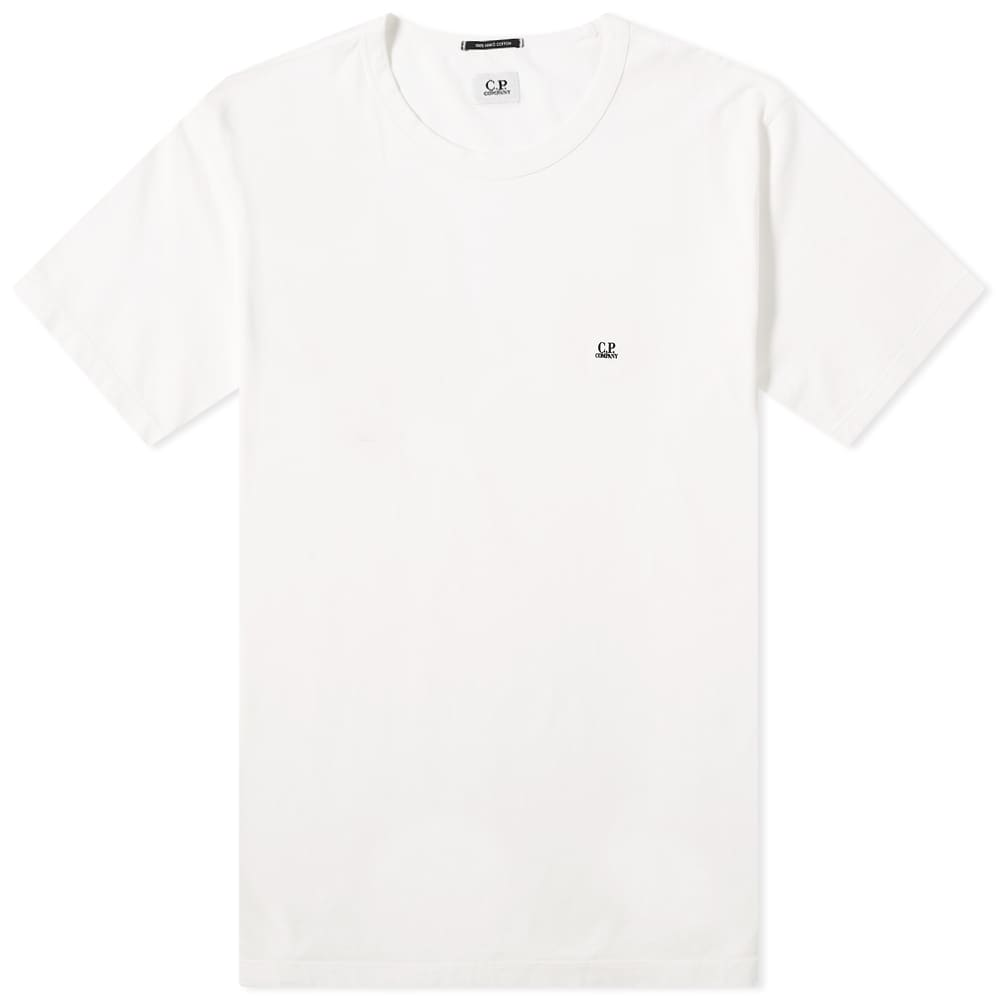 Load image into Gallery viewer, C.P Company Small Chest Logo T-Shirt White HemingCo