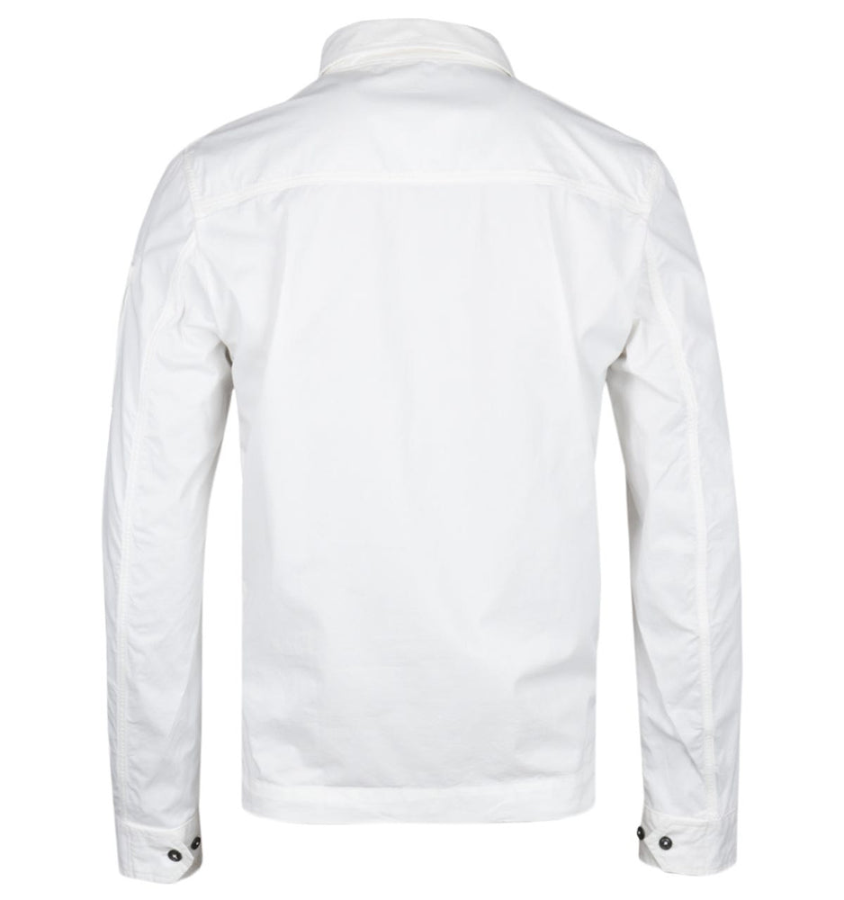 Load image into Gallery viewer, C.P Company Lens Overshirt White HemingCo