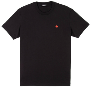 Load image into Gallery viewer, D2 Maple Leaf T-Shirt HemingCo Black