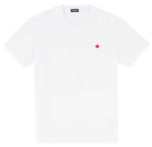 Load image into Gallery viewer, D2 Maple Leaf T-Shirt HemingCo White