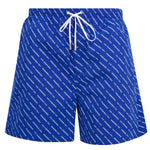 DSQUARED2 All Over Print Shorts Blue HemingCo