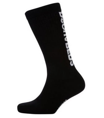 Dsquared2 Calf Print Socks Black HemingCo