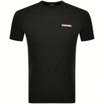 DSquared2 2 Chest Logo Black T-Shirt HemingCo