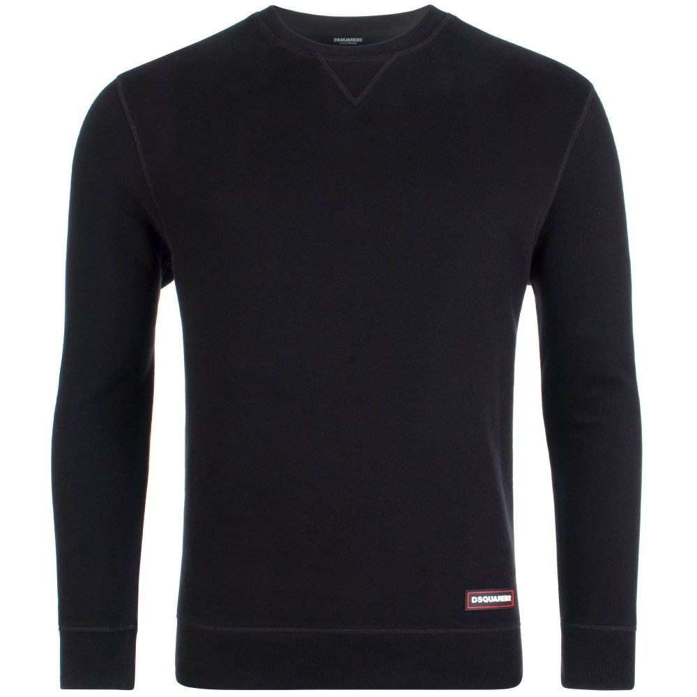 DSquared2 Crewneck Sweatshirt Black HemingCo