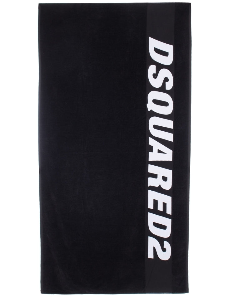 DSquared2 Towel Black HemingCo