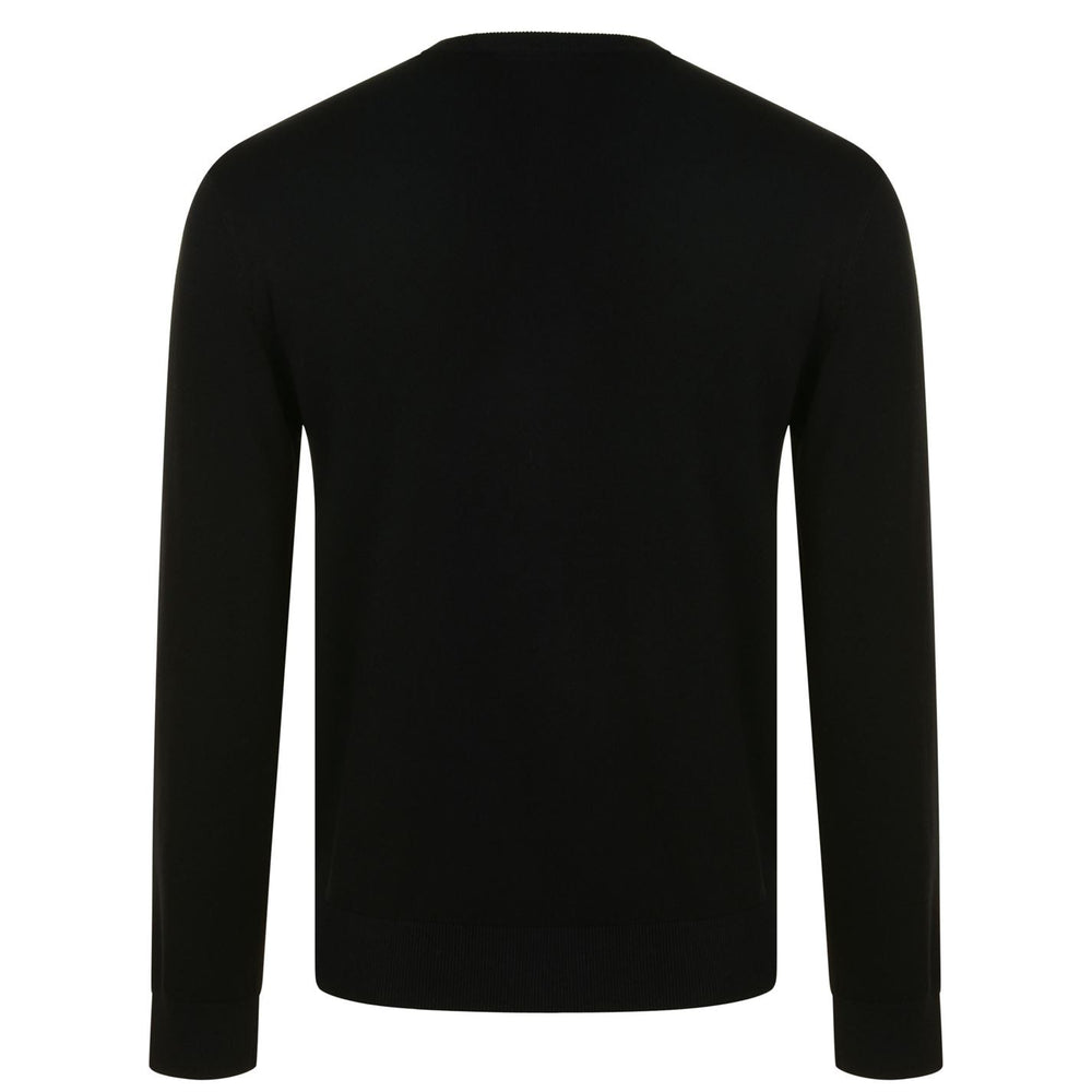 Load image into Gallery viewer, EA Embroidered Logo Jumper Black HemingCo