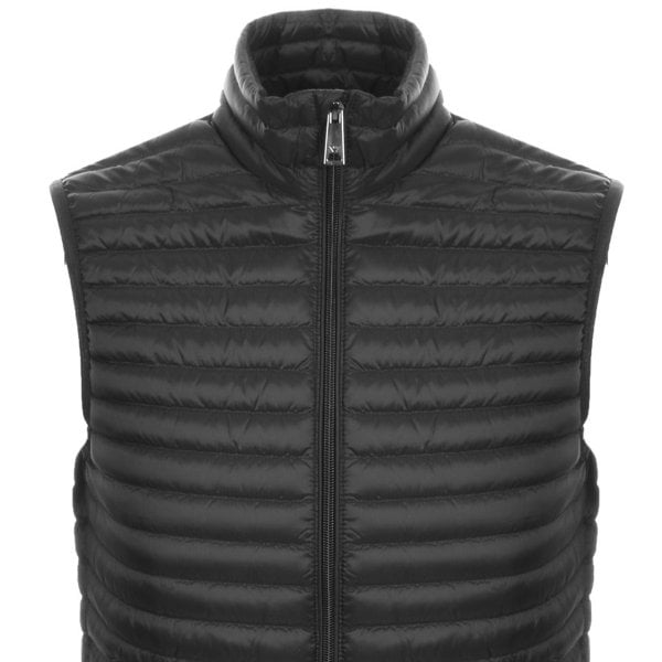 EA Down Gilet Dark Grey HemingCo 1