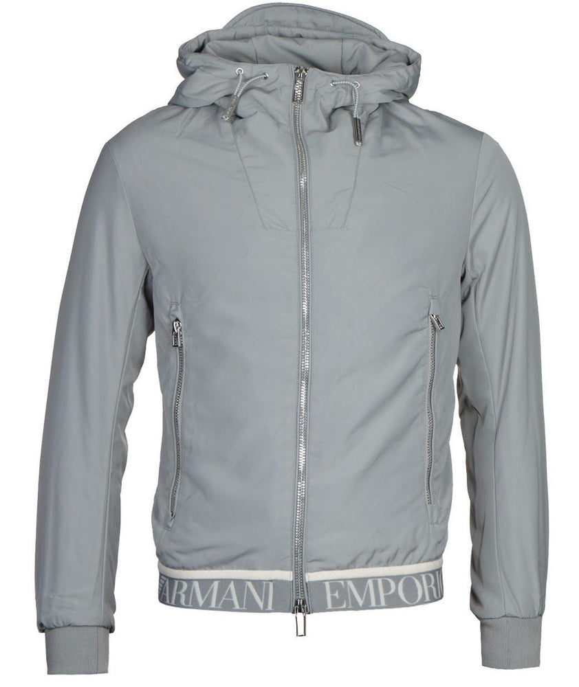 EA Hooded Jacket Grey HemingCo