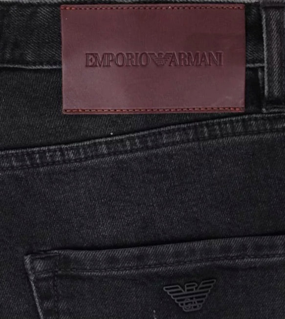 EA J09 Slim Tapered Jean Grey Hemingco