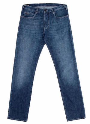Load image into Gallery viewer, Emporio Armani J06 Slim Fit Jean Blue Used HemingCo