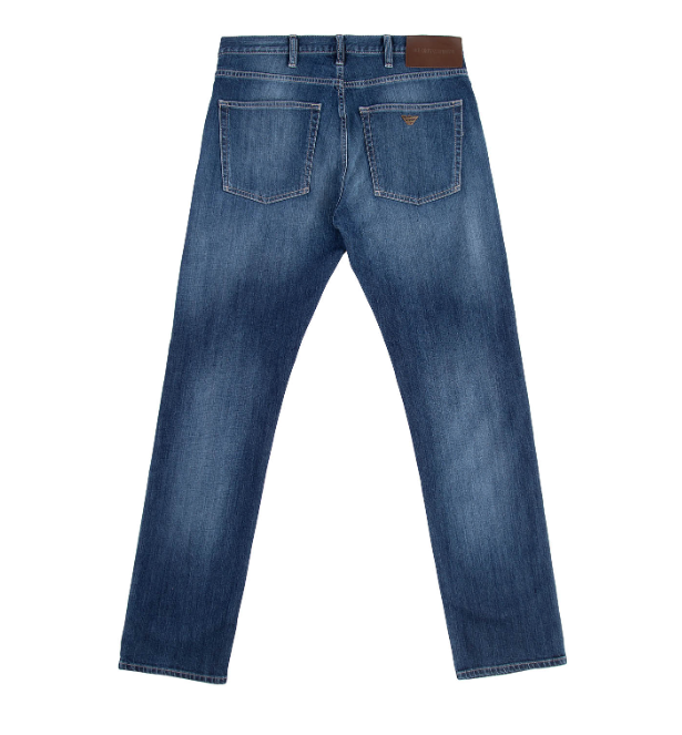 Load image into Gallery viewer, Emporio Armani J45 Jeans Mid Stone Wash HemingCo