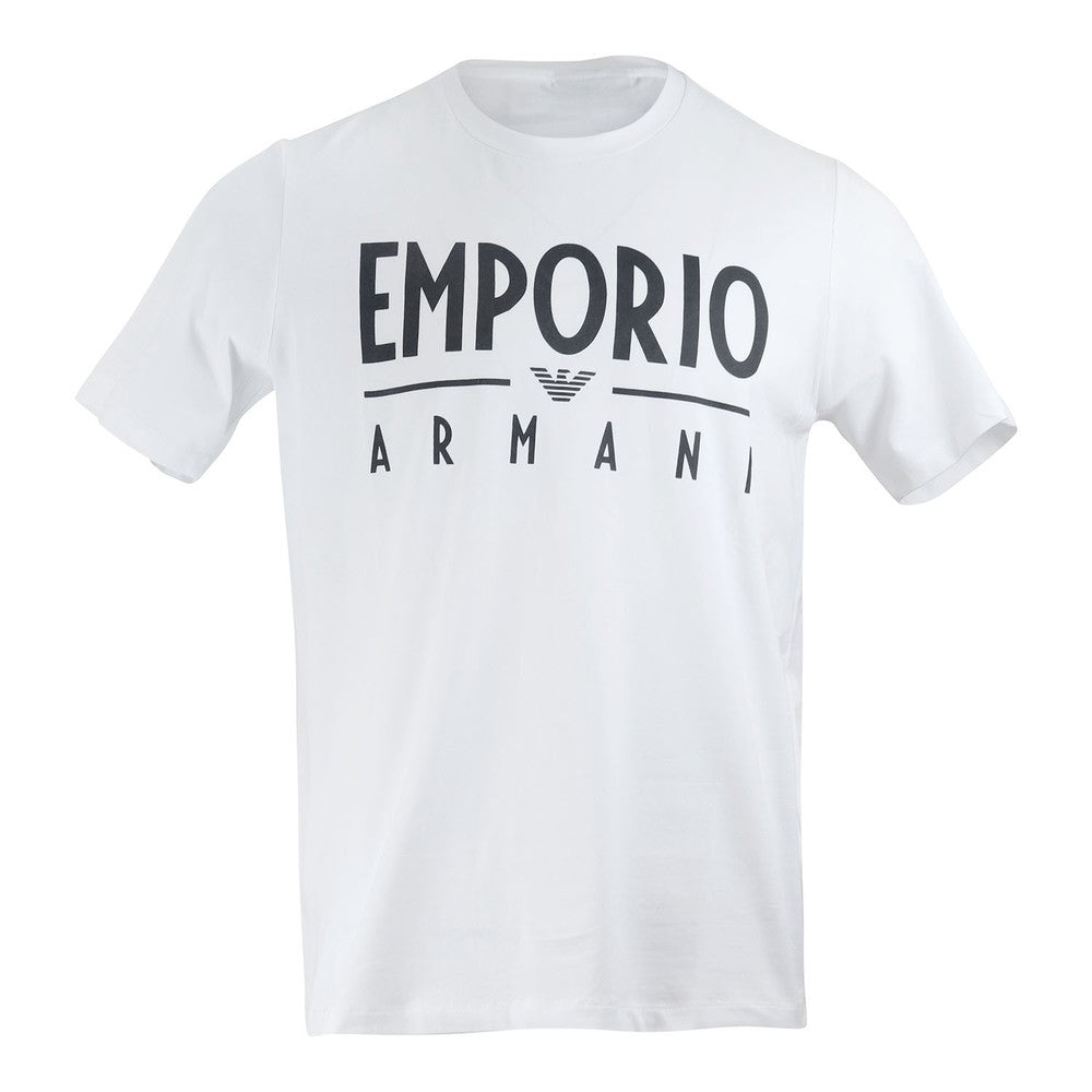 EA Large Print T-Shirt White HemingCo