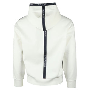 Load image into Gallery viewer, Emporio Armani Side Branding Hoodie White HemingCo