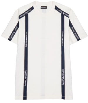 Load image into Gallery viewer, Emporio Armani Side Branding T-Shirt White HemingCo