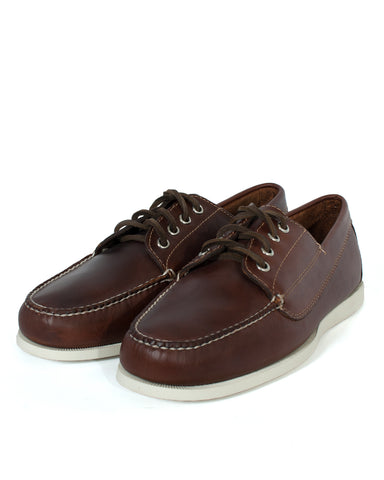 G.H Bass Camp Moc Jackman Pull Up: DARK BROWN
