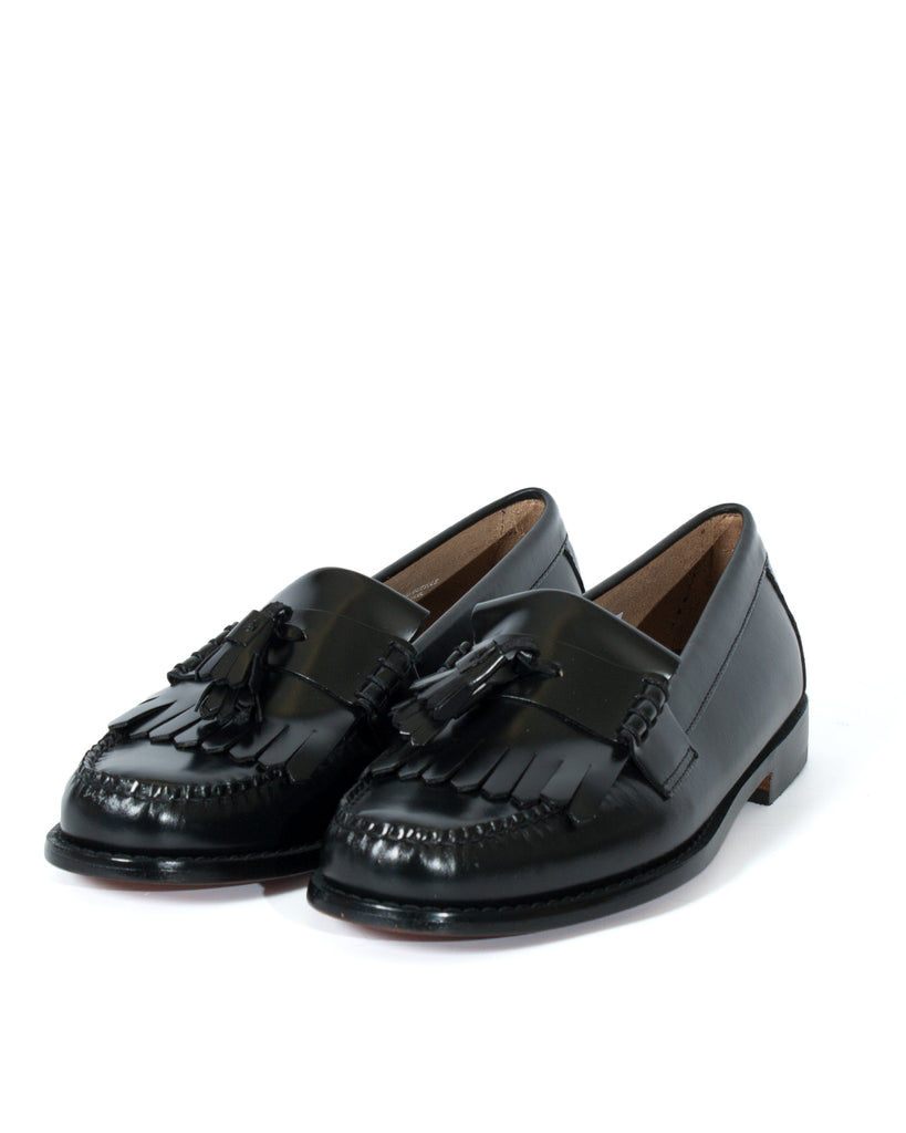 G.H Bass Layton 2 Moc Kiltie Loafer: BLACK