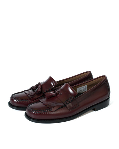 G.H Bass Layton 2 Moc Kiltie Loafer: WINE