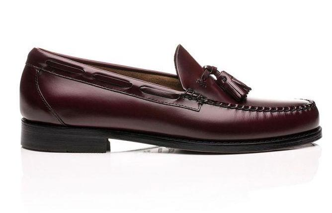 GH Bass Larkin Tassel Loafer Burgundy