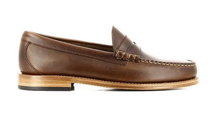 GH Bass Leather Larson Loafer Brown HemingCo