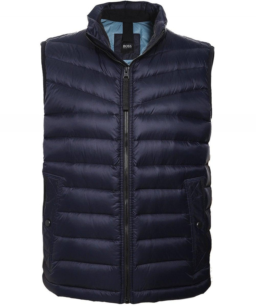 Hugo Boss Orange Olmeev Gilet Dark Blue HemingCo