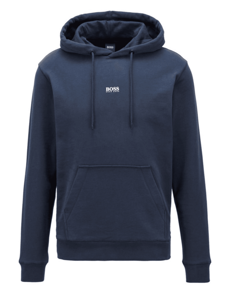Hugo Boss Weedo Hoodie Dark Blue HemingCo