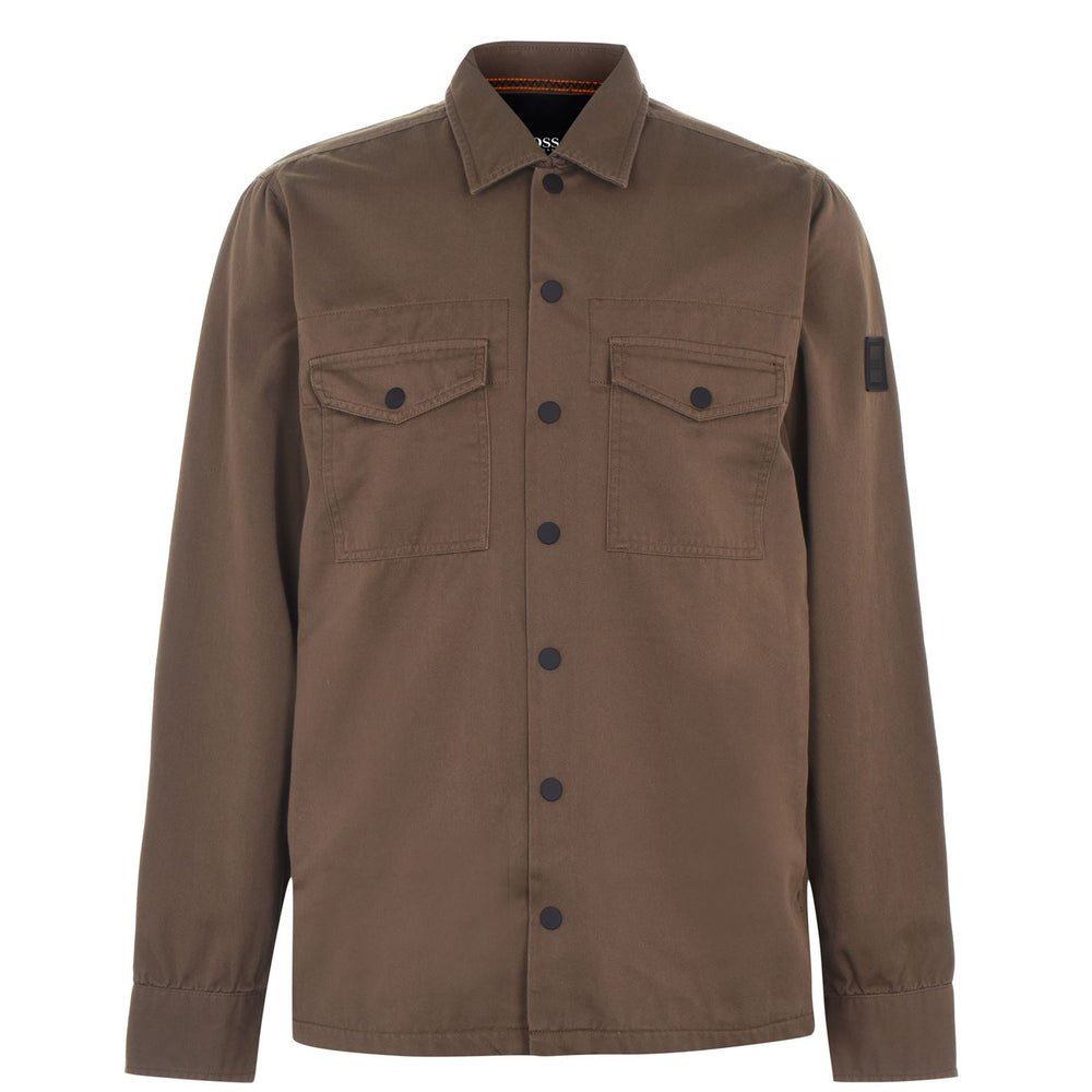 Hugo Boss Lovel Overshirt Beige HemingCo