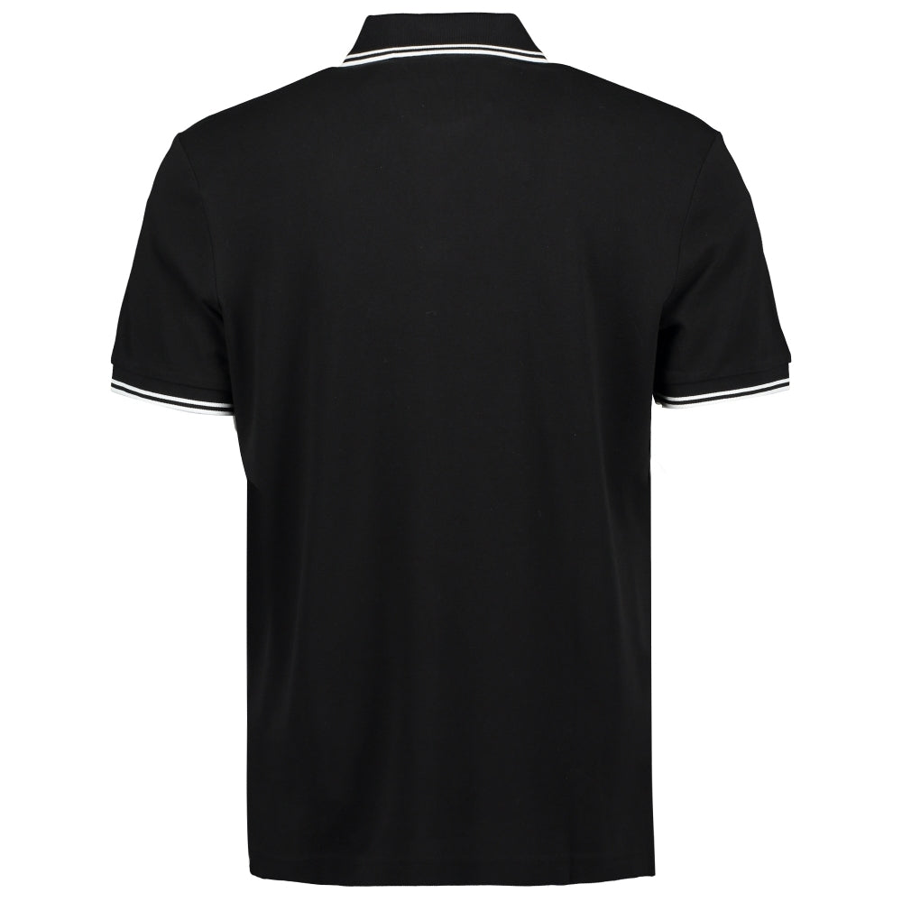 Load image into Gallery viewer, Hugo Boss Orange PChup Polo Shirt Black HemingCo