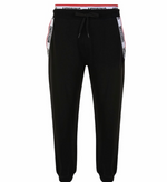 Moschino Taped Tracksuit Bottoms Black HemingCo