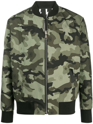 NB Reversible Bomber Jacket Bolt/Camo  HemingCo