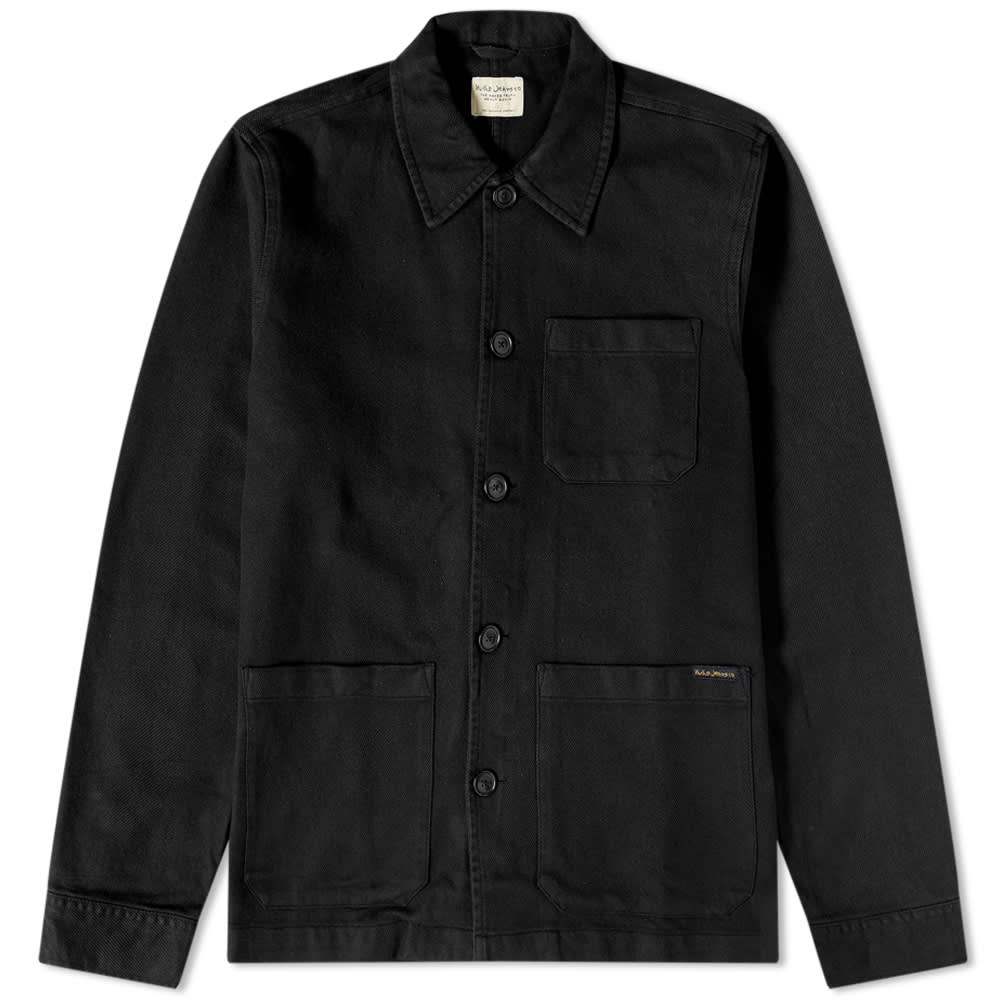 Nudie Jeans Barney Jacket Black HemingCo