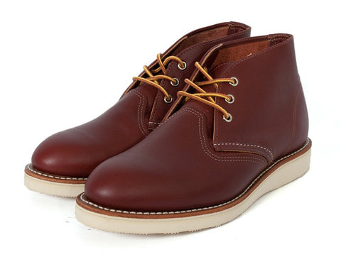 Red Wing Shoes Chukka Boots: COPPER