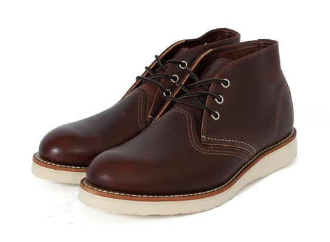 Red Wing Shoes Chukka Boots: DARK BROWN