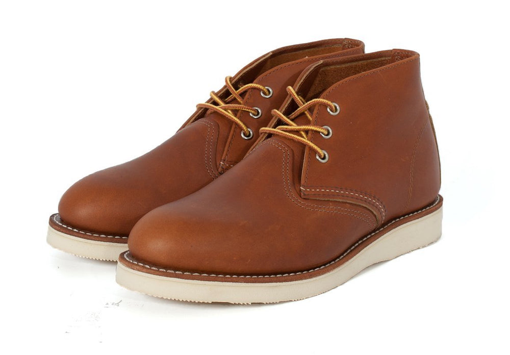 Red Wing Shoes Chukka Boots Tan HemingCo