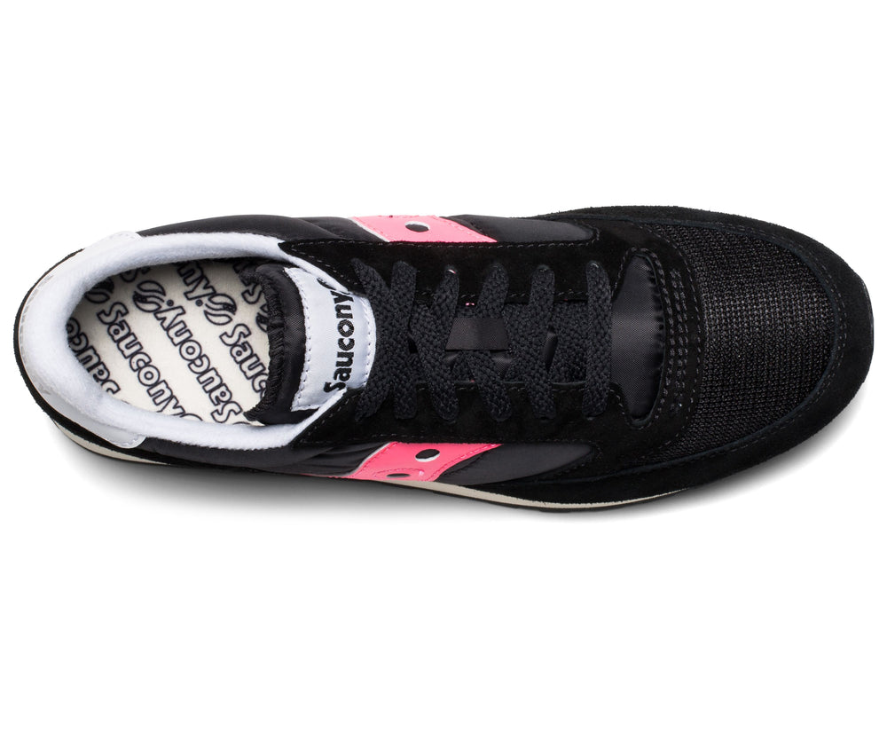 Saucony Jazz Black Pink Trainers HemingCo