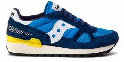 Saucony Shadow Original Vintage Trainer BlackYellow HemingCo