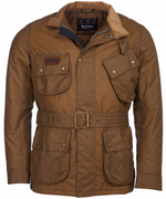 Barbour International SL Wax Jacket Sand HemingCo