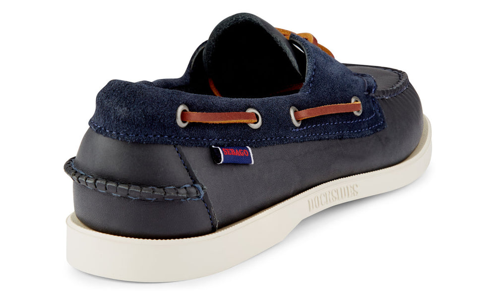 Sebago Dockside Portand Winch Navy HemingCo
