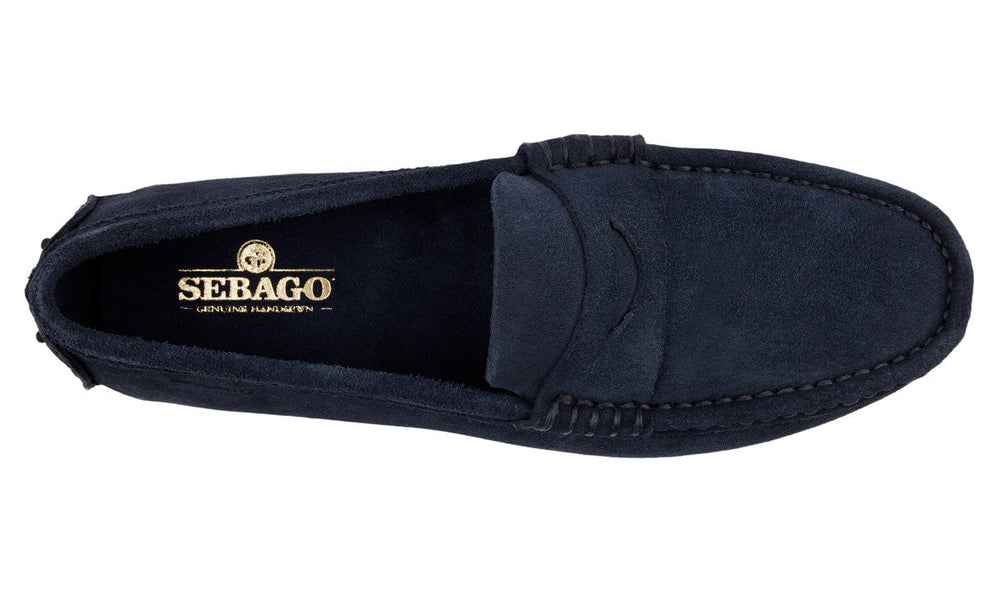 Load image into Gallery viewer, Sebago Russel Suede Shoe Navy HemingCo