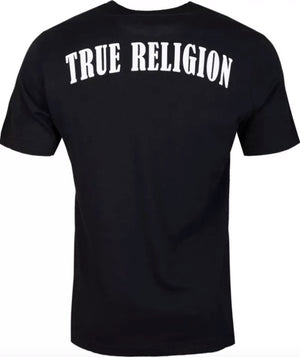 True Religion Rubber Horseshoe T-Shirt Black HemingCo